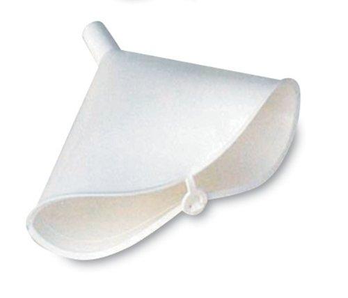 WirthCo 32610 Funnel King White Polyethylene Folding Funnel - 12 oz. Capacity ()