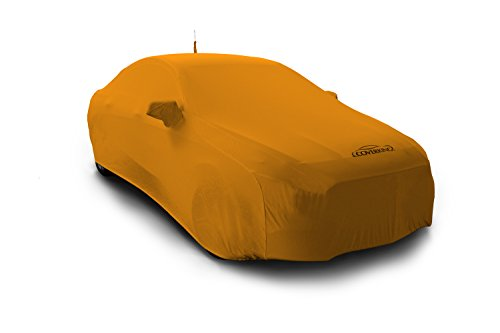 Coverking Custom Car Cover for Select BMW 3-Series Models - Satin Stretch (Rust Orange)