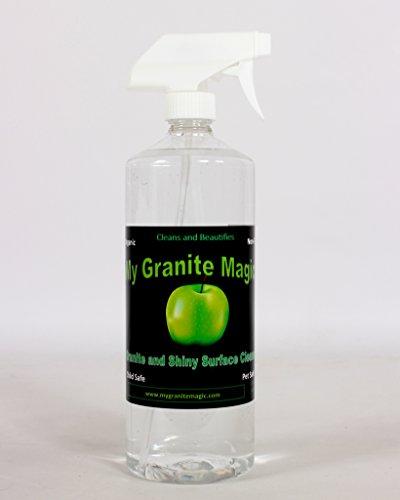 My Granite Magic Organic Daily Use Cleaner 32 Oz Spray Bottle