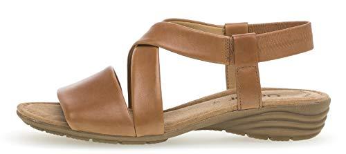 Cuña Del 550 24 Gabor Fitting übergrößen De best sandalias sandalias zapatos cómodo Tan plana Verano sandalias Cuña Mujer XCx5qv