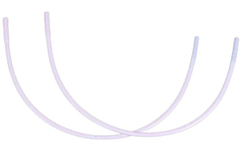 Porcelynne Nylon Coated Regular Metal Replacement Wire/Underwire for Bras - Size 56-1 Pair - 48F(DDD), 50E(DD), 52D, 54C, 56B ()