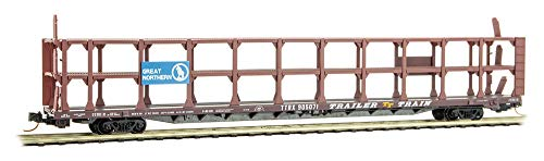 Micro-Trains MTL N-Scale 89' Tri-Level Auto Rack Great, used for sale  Delivered anywhere in USA