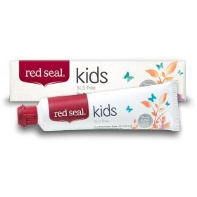 Red Seal Natural Kids / Children's SLS Free Toothpaste Bubble Gum (Flavored Herbal Toothpaste)