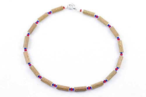 Healing Hazel Hazelwood Children Necklace Red/Navy Blue 13-Inch CE-NO-17 13