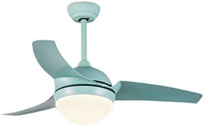 Habitacion Lampara Ventilador Techo Nordic Ajustable Velocidad Fan ...
