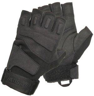 - BLACKHAWK! Men's Black S.O.L.A.G. Special Ops 1/2 Finger Light Assault Glove (Black, XX-Large)
