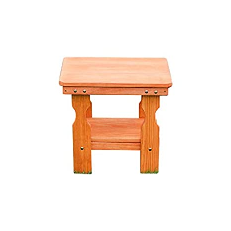 CAF Amish Heavy Duty Pressure Treated End Table Unfinished