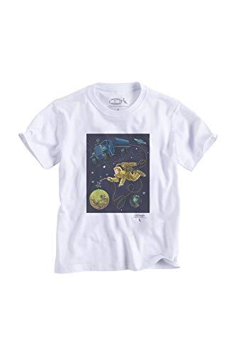 Camiseta Mini Astronauta Folha