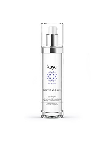 Kaya Clinic Acne Free Purifying Nourisher, Gentle/light/non-greasy daily Moisturizer for oily & pimple prone skin, 50 ml