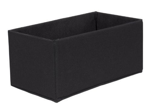 CreativeWare Fold N Store 2-Pack Storage Set, Black by CreativeWare