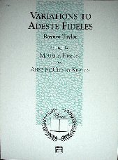 Adeste Fideles Piano - Variations To Adeste Fideles for Piano