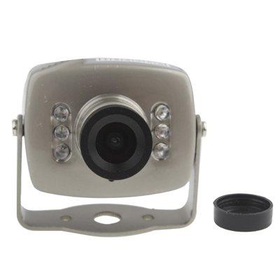 Security Cameras 1/4 CMOS 6 LED Color 380TVL Mini Camera