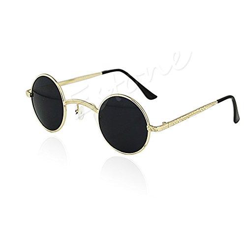 estilo Gbk retro Gafas estilo JAGENIE de sol vintage Sw steampunk mujer estilo para Uzqfwq7