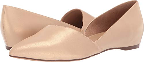 Naturalizer Women's Samantha Soft Nude Pearl Leather 8.5 M US
