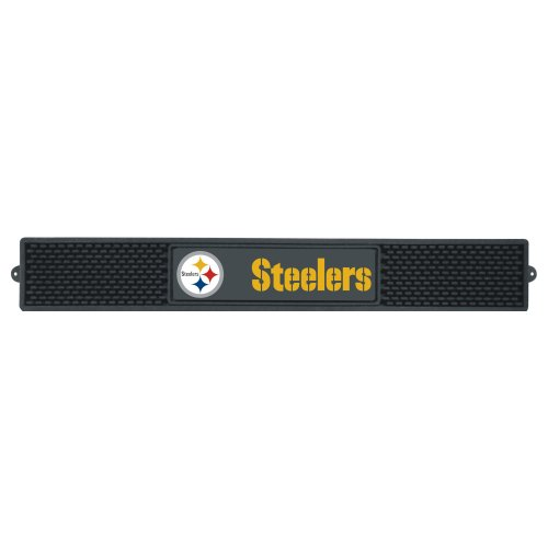 (FANMATS NFL Pittsburgh Steelers Vinyl Drink Mat)