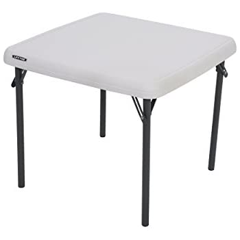 Lifetime 80425 Kids Folding Table, Almond, 24u201d