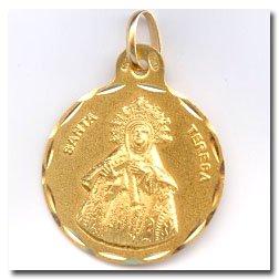 Medalla Santa Teresa D'or