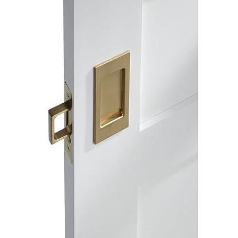 pass santa monica passage pocket door set with door pull from the