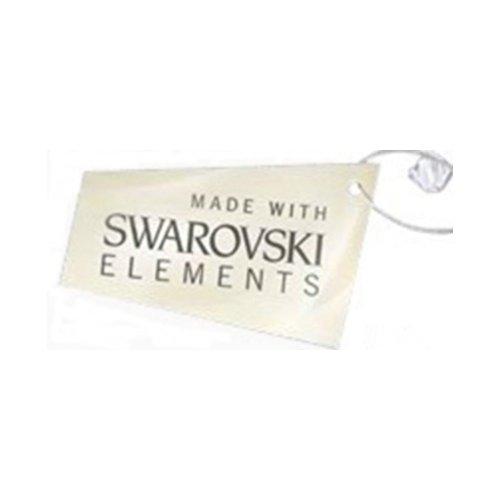 Parure bijoux Torsadée Cristal Turquoise Swarovski Eléments avec Bracelet