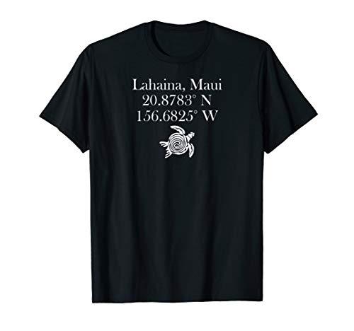 Hawaiian Tribal Turtle Retro Lahaina Maui Gift T-Shirt ()