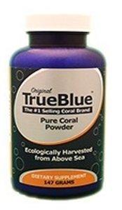 Премиум Коралловые капсулы Кальций из Окинавы ● TrueBlue Coral кальция порошок - 147г