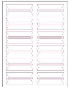 3//4 H x 3-1//2 W White Acme Abgor Compatible wrap-Around File Folder Labels 240 Labels//Pack TBBS-49406
