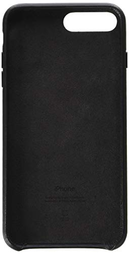 Apple iPhone 8 Plus / 7 Plus Leather Case - Black (Renewed)