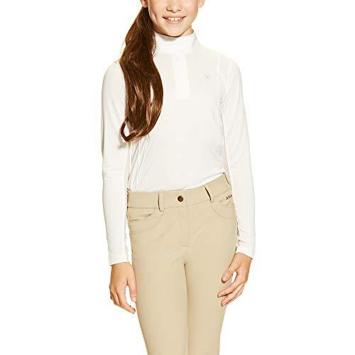 ARIAT Kid's Sunstopper Show Shirt White Size Medium