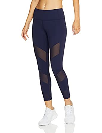 Lorna Jane Women's Cecile Core A/B Tight, Blue(Ink), X-Small