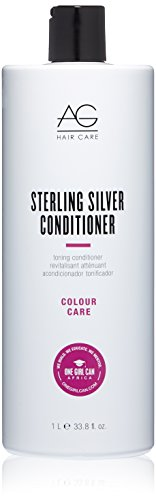 AG Hair Sterling Silver Conditioner Toning Conditioner,  33.8 Fluid -
