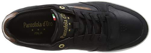 black Pantofola Uomo Low Sneaker 25y Schwarz Auronzo D'oro xcwqwYRCT6