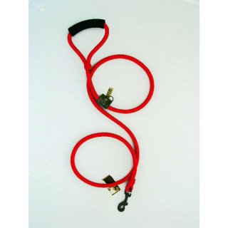Timberwolf Alpine Rope Dog Leash ~Red~ 7/16″x 48″, My Pet Supplies