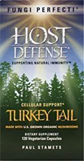 product image for Host Defense Fungi Perfecti Turkey Tail, 120 Capsules (Pack of 3) by Host Defense
