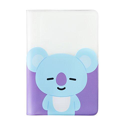 BT21 Official Merchandise by Line Friends - KOYA Character Passport Holder Cover