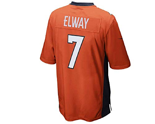 NIKE John Elway Denver Broncos Men's Retired Player Game Football Jersey Medium