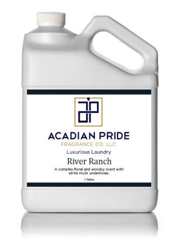 (Acadian Pride Luxurious Wash - Pick Your Scent - River Ranch, 1 Gallon - (with Bonus PEARSONS Stain Remover Pen))
