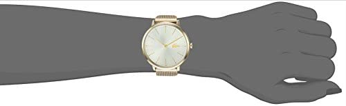Lacoste Women's 'MOON ULTRA SLIM' Quartz and Stainless-Steel-Plated Casual Watch, Color:Gold-Toned (Model: 2001000) 2