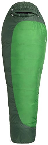Marmot Trestles 30 Synthetic Sleeping Bag, Regular-Right, Green