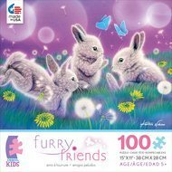 Ceaco 100 Piece Furry Friends: Spring Has Sprung jigsaw puzzle