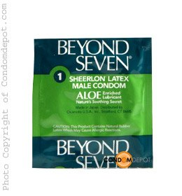 Beyond Seven Aloe - Pack Size - 1000 Pack by Beyond Seven Condoms