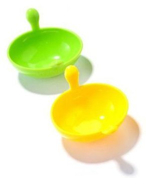 The Chefs Toolbox Silicone Egg Poachers (Pack of 2)