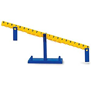 Learning Resources Math Balance 8-1/2T 20 10G Weights