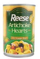 Reese Artichoke Hearts Large Size -- 14 oz Frozen Artichoke Hearts