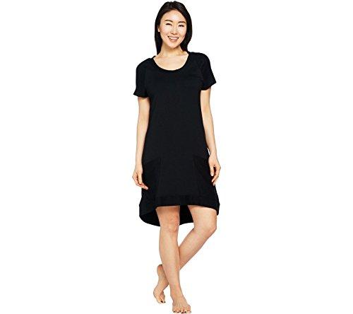 Scoop Neck Terry Dress - 8