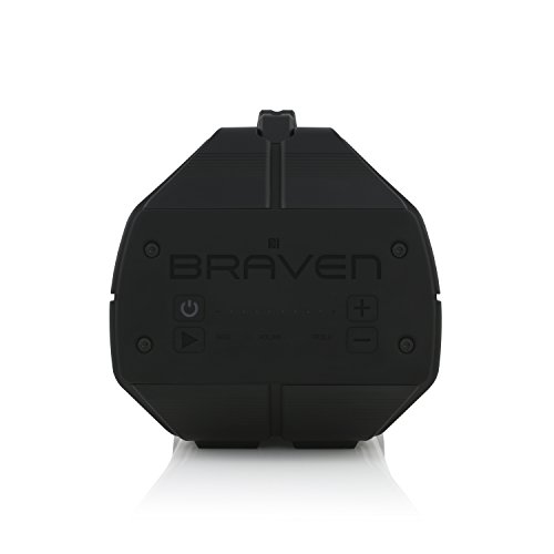 BRAVEN BRV-XXL Large Portable Wireless Bluetooth Speaker [Waterproof][Outdoor] Built-In 15,600mAh Power Bank USB Charger - Black / Titanium by Braven (Image #4)
