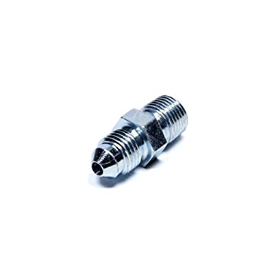 Fragola 581603# 3 X 1/8 Mpt Straight Adapter Steel: Automotive