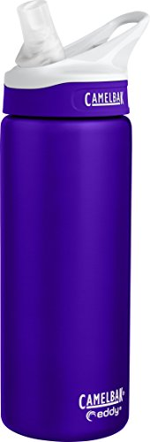 CamelBak eddy Vacuum Insulated Stainless, 20 oz, Iris (Insulated Bottle Camelbak)
