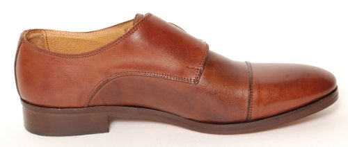 Antica Calzoleria Campana Schuh | Mod. 9509 | Kalbsleder | Monkstrap | dunkelbraun | Größe 45