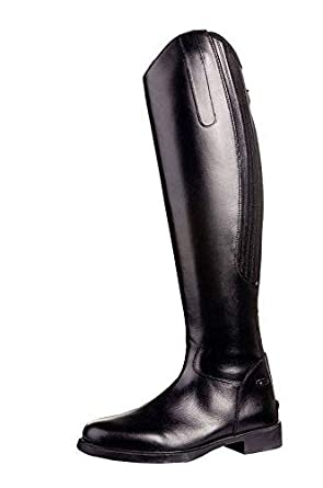HKM Reitstiefel Herren Standard mit Reißverschluß, schwarz, 44