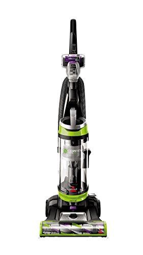 BISSELL Cleanview Swivel Pet Upright Bagless Vacuum Cleaner, Green, 2252 - Green Hardwood Floor